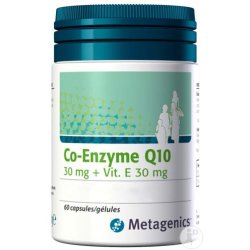 Metagenics Co Enzyme Q10 30mg Und Vitamin E 30mg Kapseln 60
