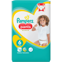 Pampers Premium Protection Pants Gr. 6 15 kg 16 Stück