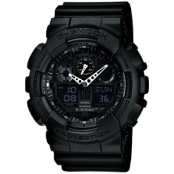 Casio G SHOCK Classic Herrenchronograph GA 100 1A1ER