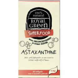 Astaxanthine (60 softgels) Royal Green