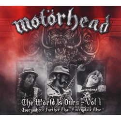 Motörhead The Wörld is Ours Vol. 1 Everywhere Further Than Everyplace Else ( 2 CDs)