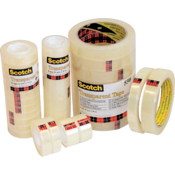 Scotch 550 Klebefilm transparent 19 0 mm x 33 0 m 8 Rollen