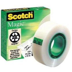 (0 07 EUR 1 m) Scotch Klebeband Magic Tape 810 19mm x 33m transparent