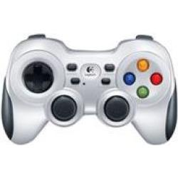 Logitech Wireless Gamepad F710 Game Pad 10 Tasten kabellos 2.4 GHz für PC