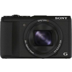 Sony »Cyber Shot DSC HX60B« Superzoom Kamera (24mm Sony G 20 4 MP 30x opt. Zoom WLAN (Wi Fi) 30 fach optischer Zoom)