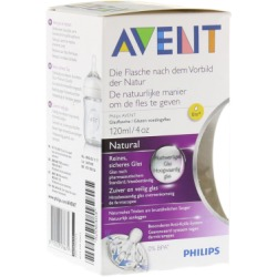 AVENT Naturnah Glasflasche 120 ml 1 St