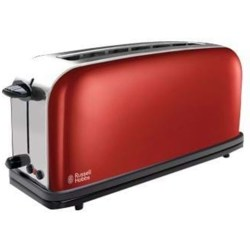 RUSSELL HOBBS Toaster Colours Plus Flame Red 21391 56 1 langer Schlitz 1000 W