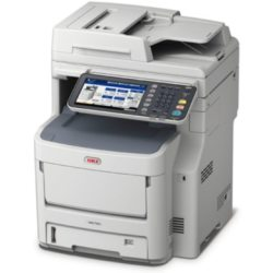 OKI MC760dn LED Multifunktionsfarblaserdrucker Scanner Kopierer LAN