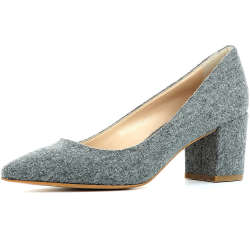 EVITA Damen Pumps ROMINA Klassische Pumps grau Damen Gr. 41